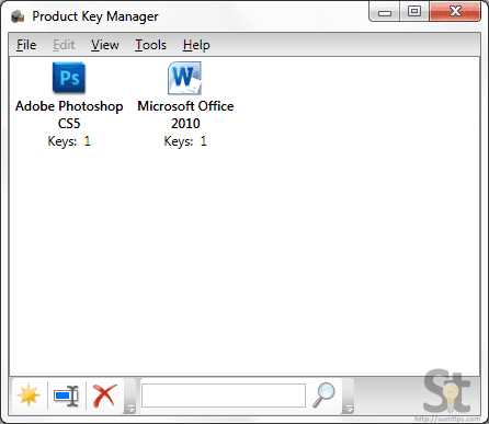 Product-Key-Manager