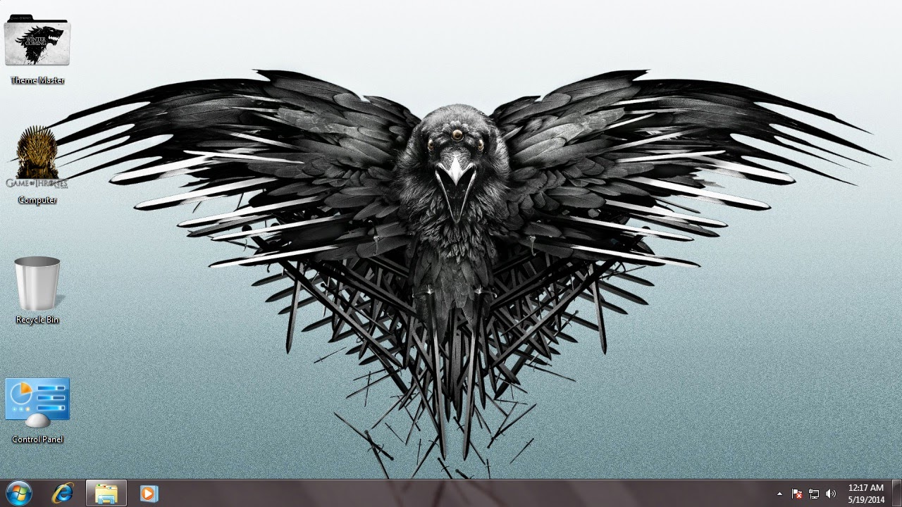 Game of Thrones theme for Windows 7 / 8 / 8.1