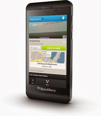 El día de hoy se ha actualizado la aplicación Foursquare para BlackBerry 10 a la versión 10.3.0.1342 desdeBlackBerry World. Foursquare te ayuda a a ti y a tus amigos a sacar el máximo provecho de dónde se encuentren. Únete a los más de 25 millones de personas que ya están en Foursquare y descarga la aplicación gratuita! Características de está aplicación: Comparte y registra los lugares que visitas. Busca los mejores lugares para visitar. Recibe cotizaciones y ofertas personalizadas según el lugar donde te encuentres y a donde tus amigos han sido. Descubre consejos y listas de expertos locales, marcas
