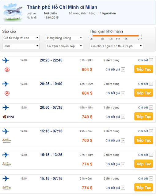Vé máy bay đi Milan giá rẻ 2015_2