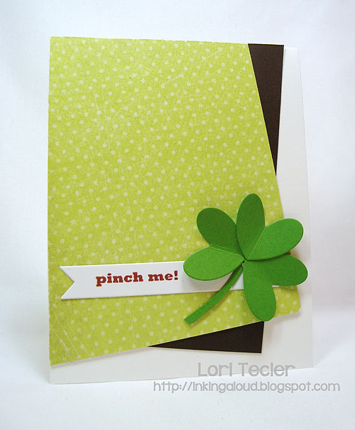 Pinch Me-designed by Lori Tecler-Inking Aloud-stamps and dies from Clear and Simple Stamps