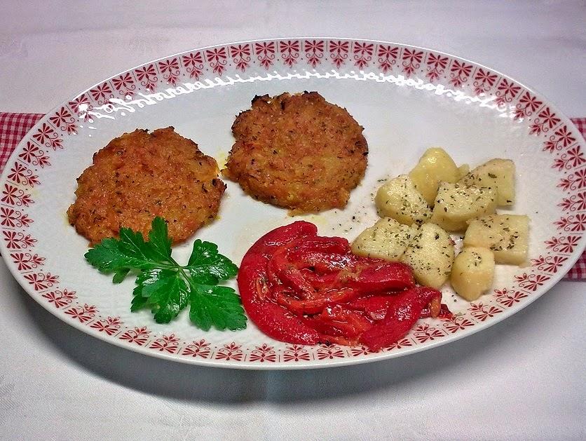 Hamburguesas de Zanahorias, Receta Vegana.