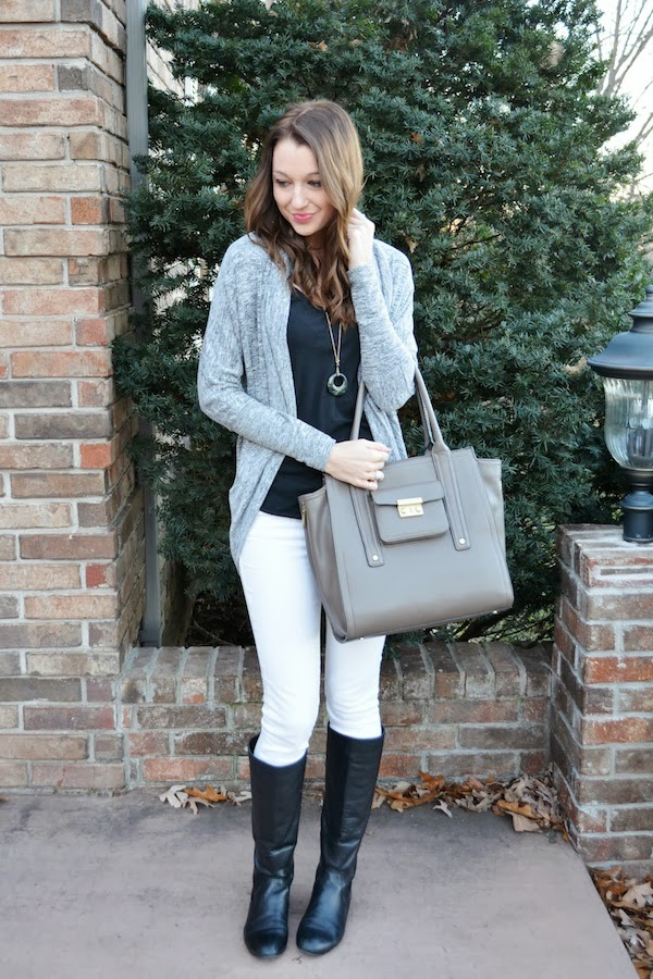 Love, Lenore: November Remix: White Jeans {3   recap}