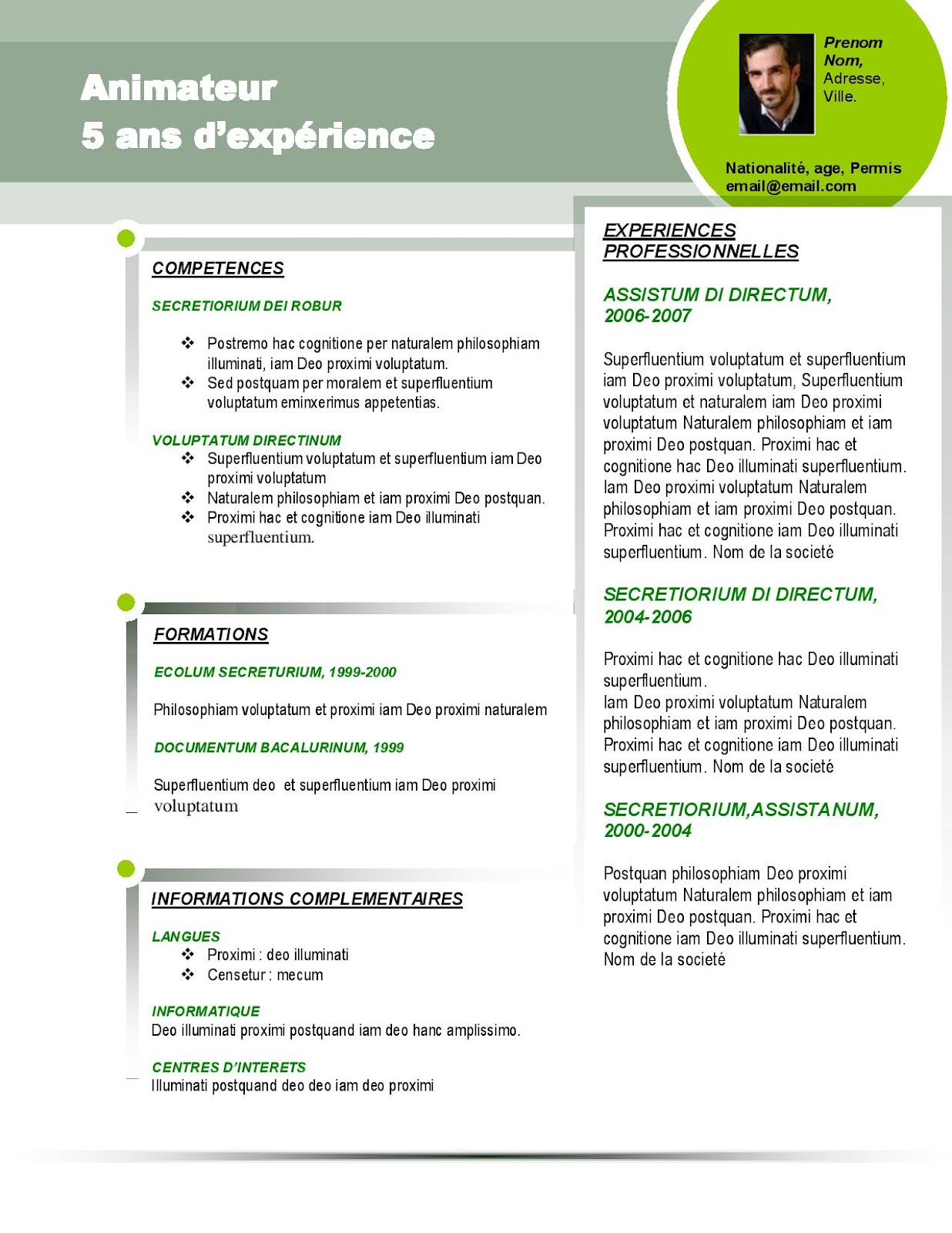 model of cv European curriculum vitae format page 1 - curriculum vitae of silaghi helga for more information go to wwwcedefopeuint/transparency/ europaeuint/comm/education.