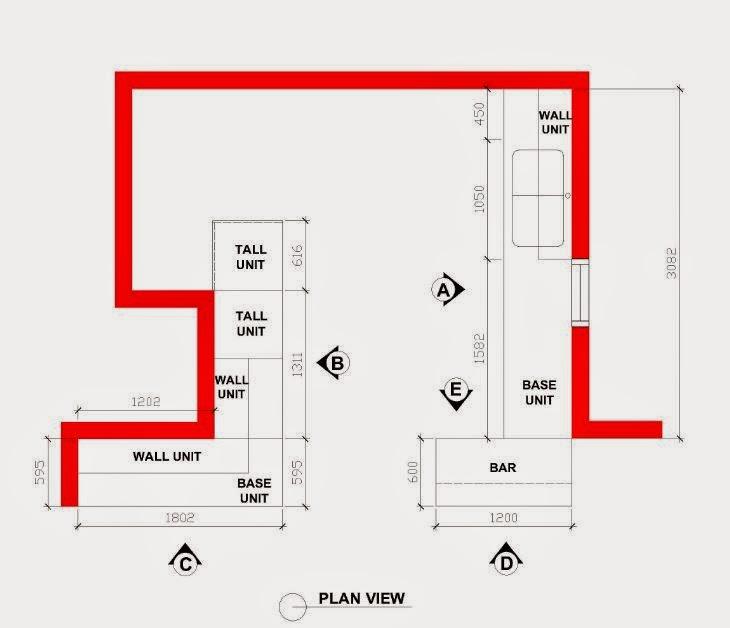 Perbezaan Harga Kitchen Cabinet Nyatoh, 3G Dan Zen