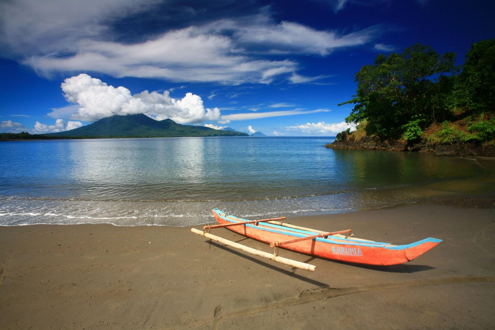 Gambar Pemandangan Laut Sore Hari Download Image