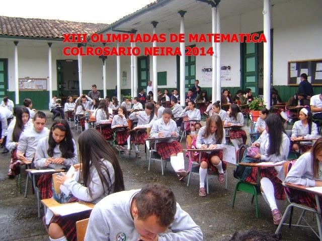 PRUEBAS SABER COLROSARIO 2014