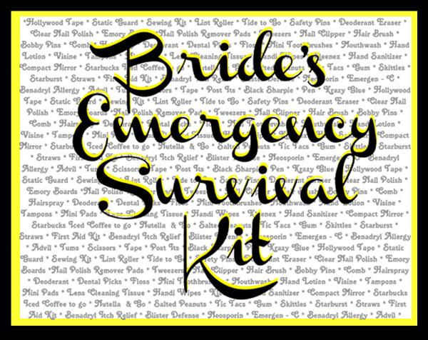 Emergency survival items 3.5