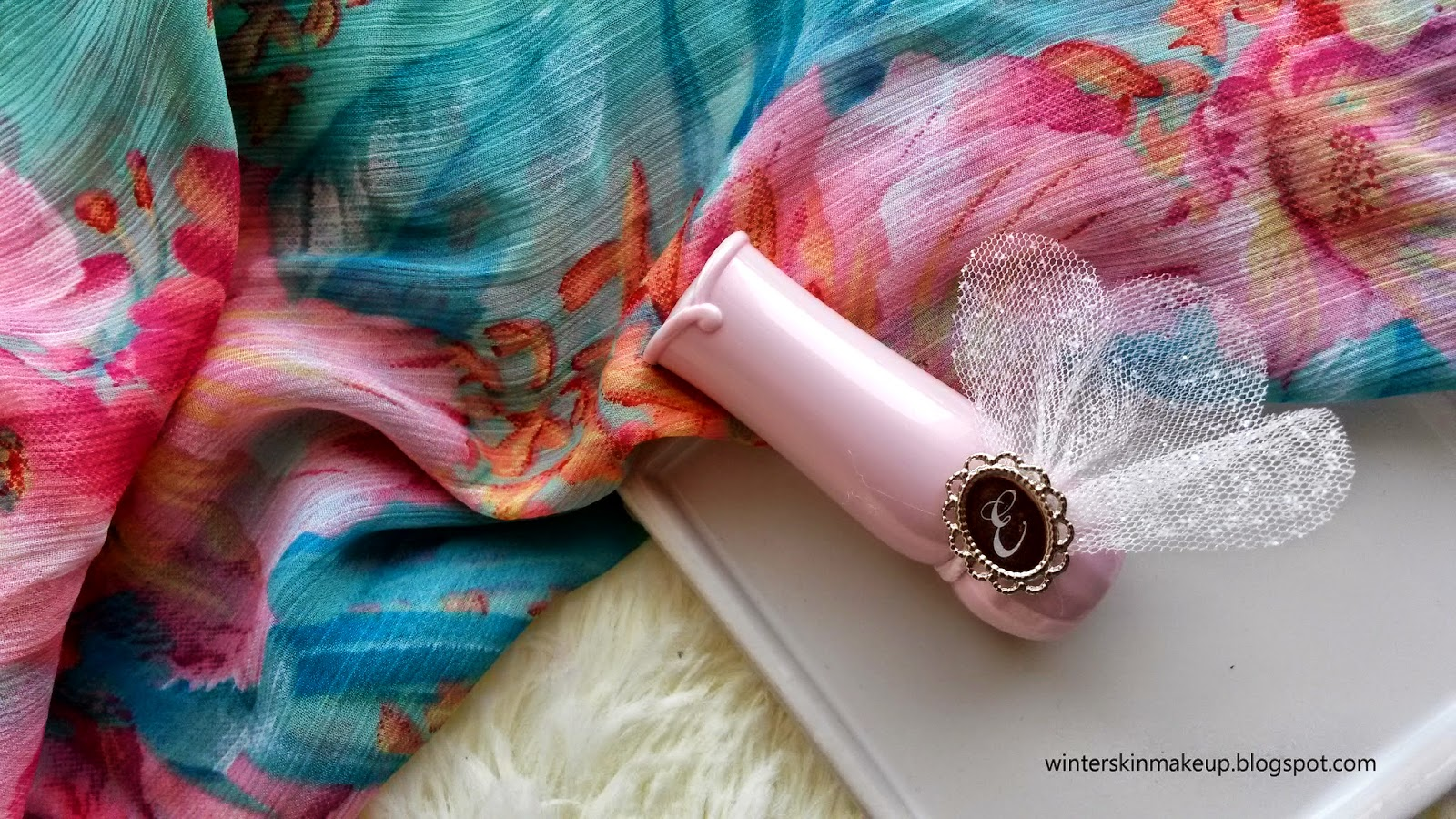Etude House Dear My Blooming Lips Talk  Etude Pink Review