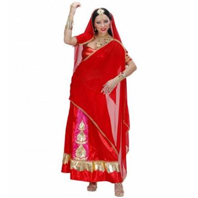 Vestido de Bollywood