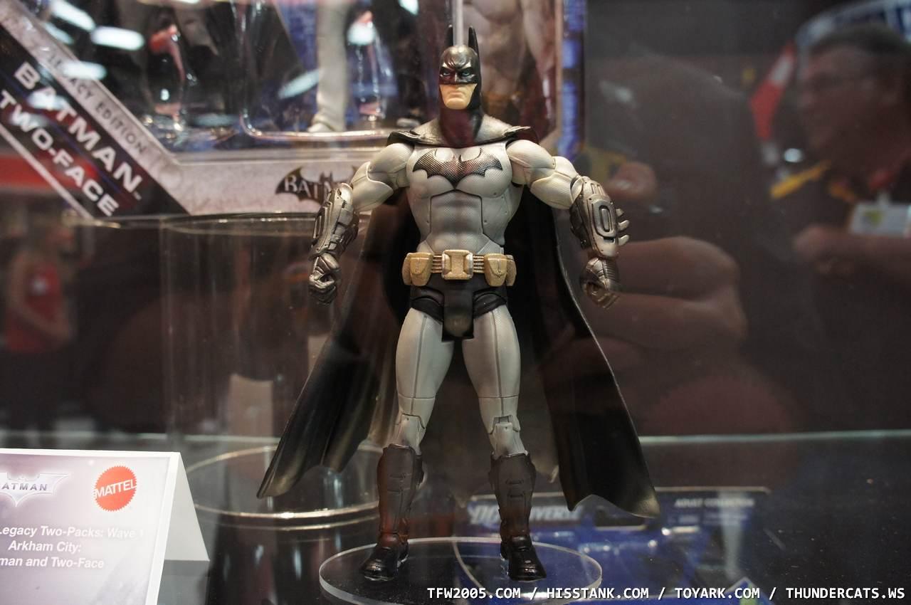 Off to Jupiter: Batman Legacy and Batman: Arkham City Toys