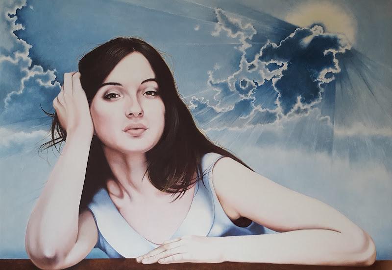 María con cielo divino. 2016
