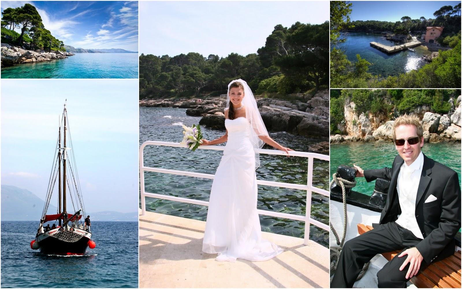 Lokrum Island Wedding