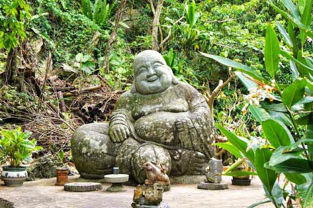 Buddha statue,forest,garden