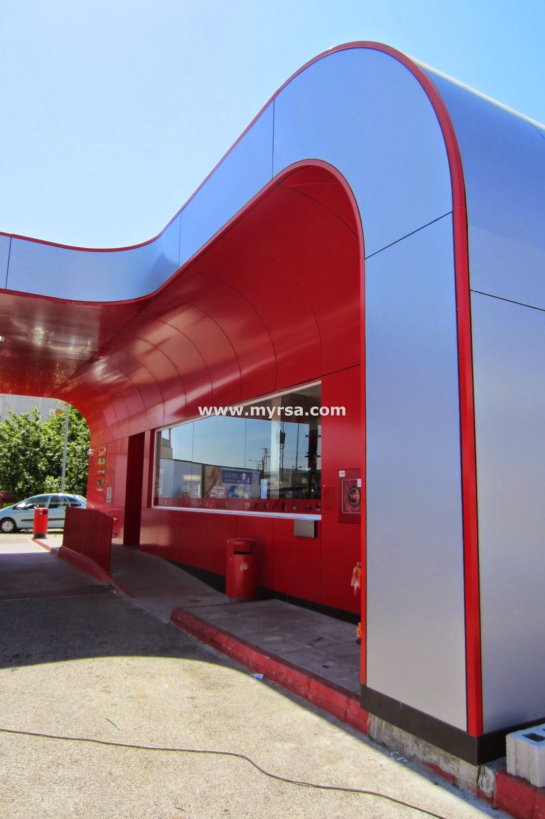 Panel composite de aluminio fr paneles de aluminio para - Precio fachada ventilada ...