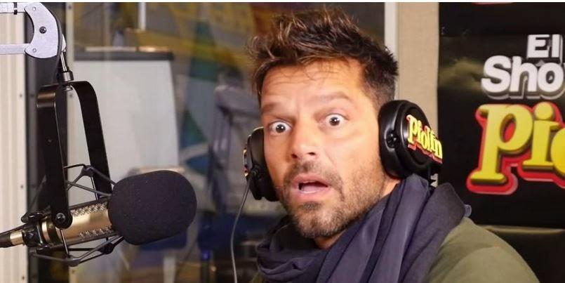 Ricky Martin sufrió una terrible broma y muy pesada