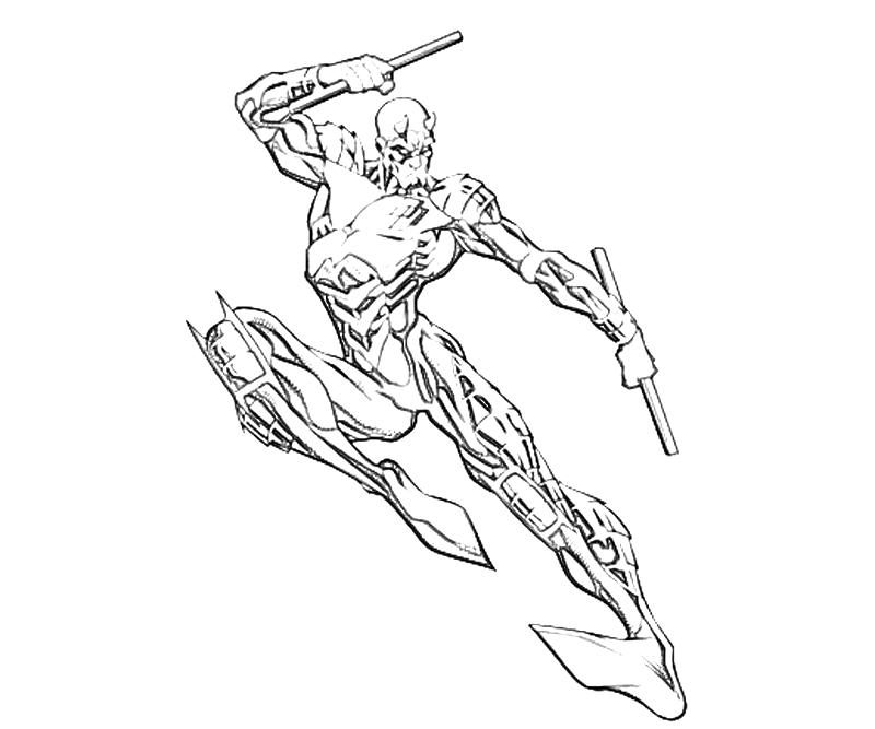 Quicksilver Coloring Pages : Quicksilver coloring pages