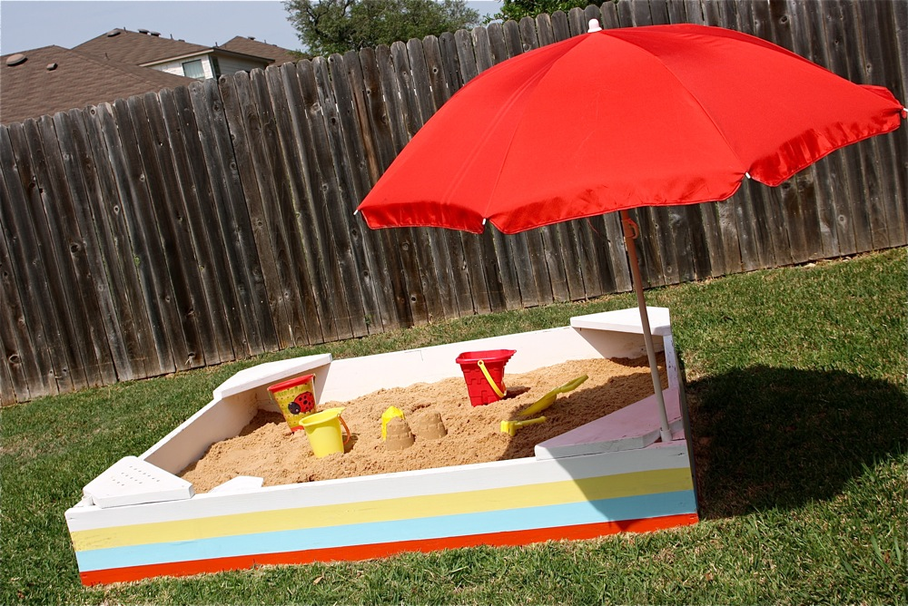 TUTORIAL Backyard Sandbox  MADE