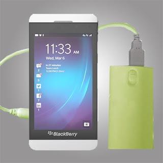 Power Bank untuk BlackBerry 10