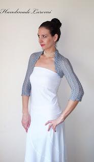 Crochet - Crochet Shrugs, Wraps & Shawls Patterns - Wine Shrug