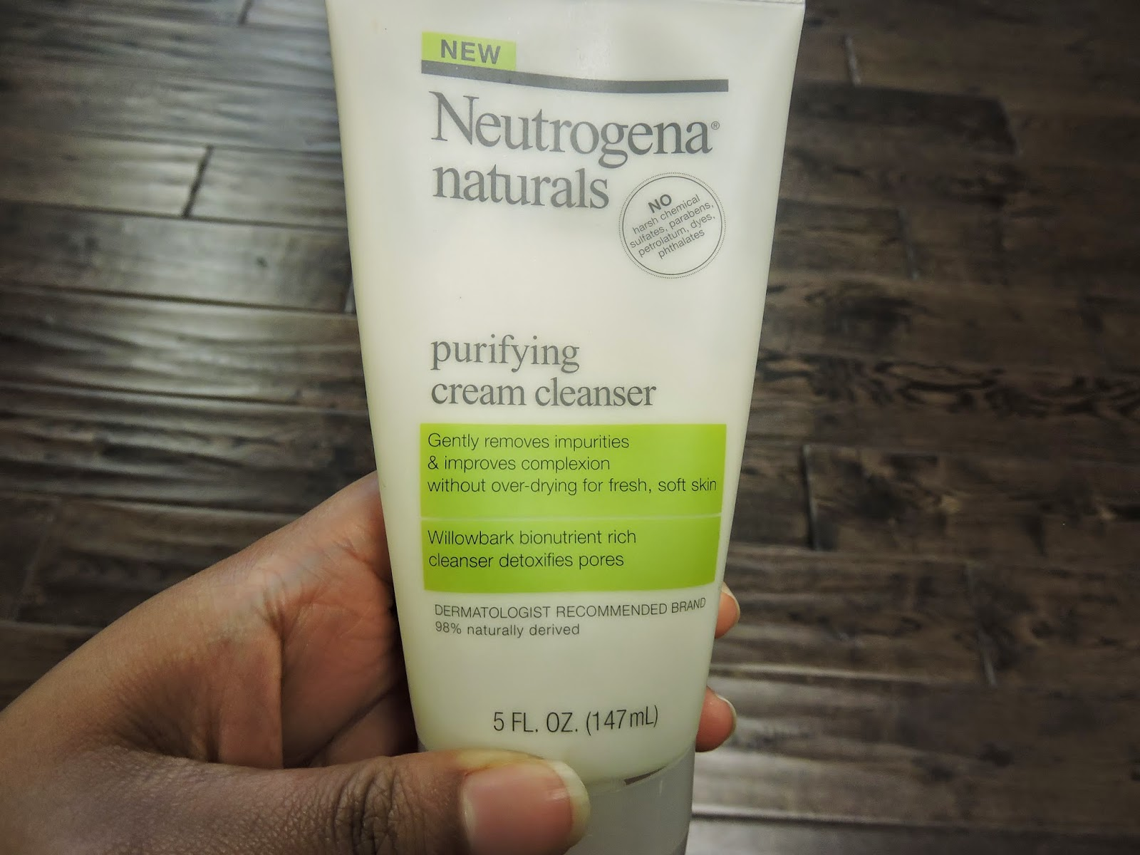 Neutrogena naturals cream cleanser review