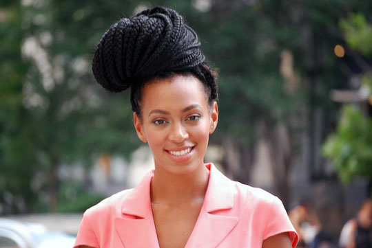 solange knowles box braids_bun