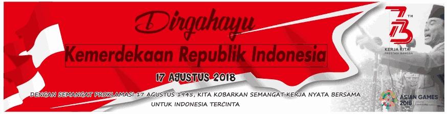 Kumpulan Banner Spanduk Mmt Hut Kemerdekaan Indonesia Ke  Emissimpatikazone