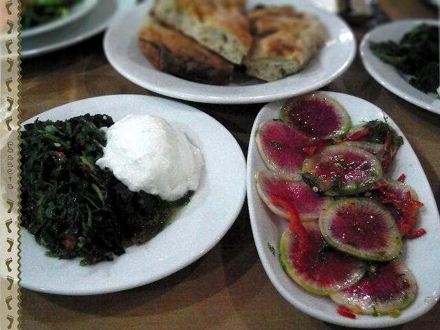 Restaurante Kirazlibache Comida típica turca