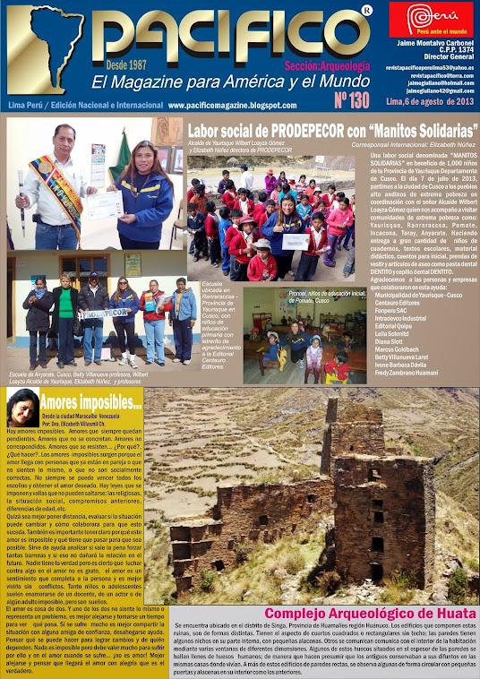 Revista Pacífico Nº 130 Arqueología