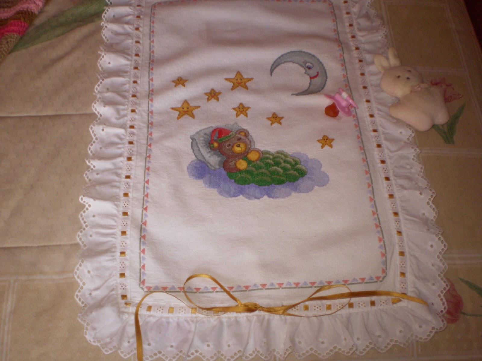 Cosas bonitas que se pueden hacer colcha de punto de cruz - Como hacer una colcha de tela ...