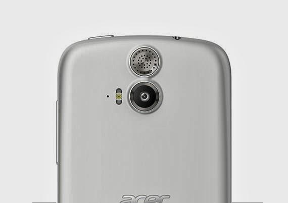 Acer liquid E2 duo Blanc smartphone