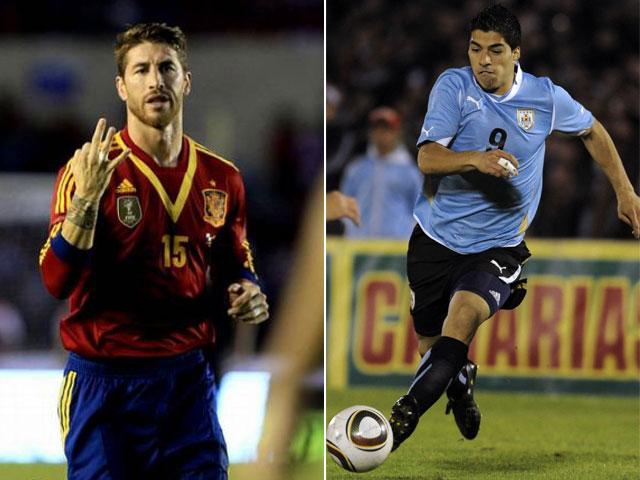 Uruguay vs España online en vivo