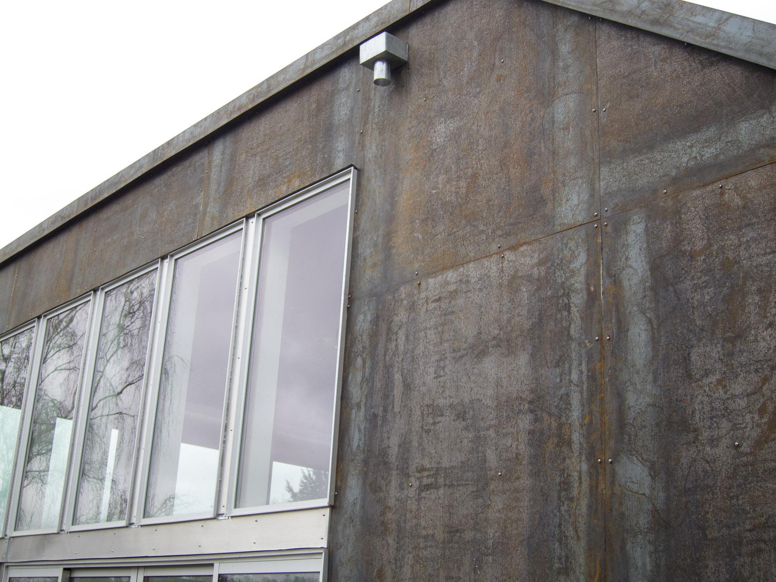 The Viretta Park Residence Siding Part 3 Corten Steel