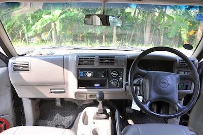 Foto dan Gambar Interior Opel Blazer