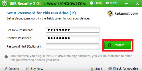 PASSWORD+PROTECT+USB+PENDRIVE