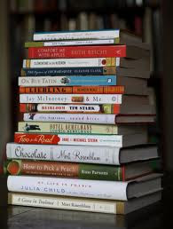 stack of novels