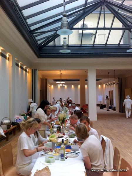 Dîner en blanc in Weimar 2015