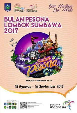 Bulan Pesona Lombok Sumbawa 2017