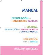 Manual de Exploración de Habilidades Básicas Secundaria