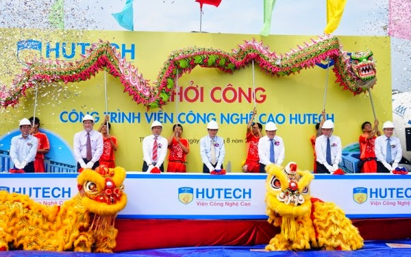 Dự án khối A khu công nghệ cao Hutech