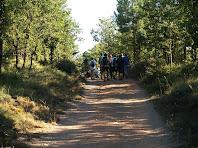 Camí Ramader al seu pas pel Serrat Gran de Postius