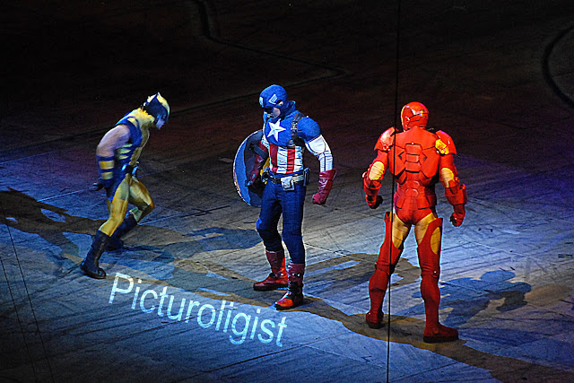 Heroes | Marvels Universe Live | Photo by Picturologist
