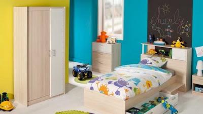 dormitorio niño amarillo