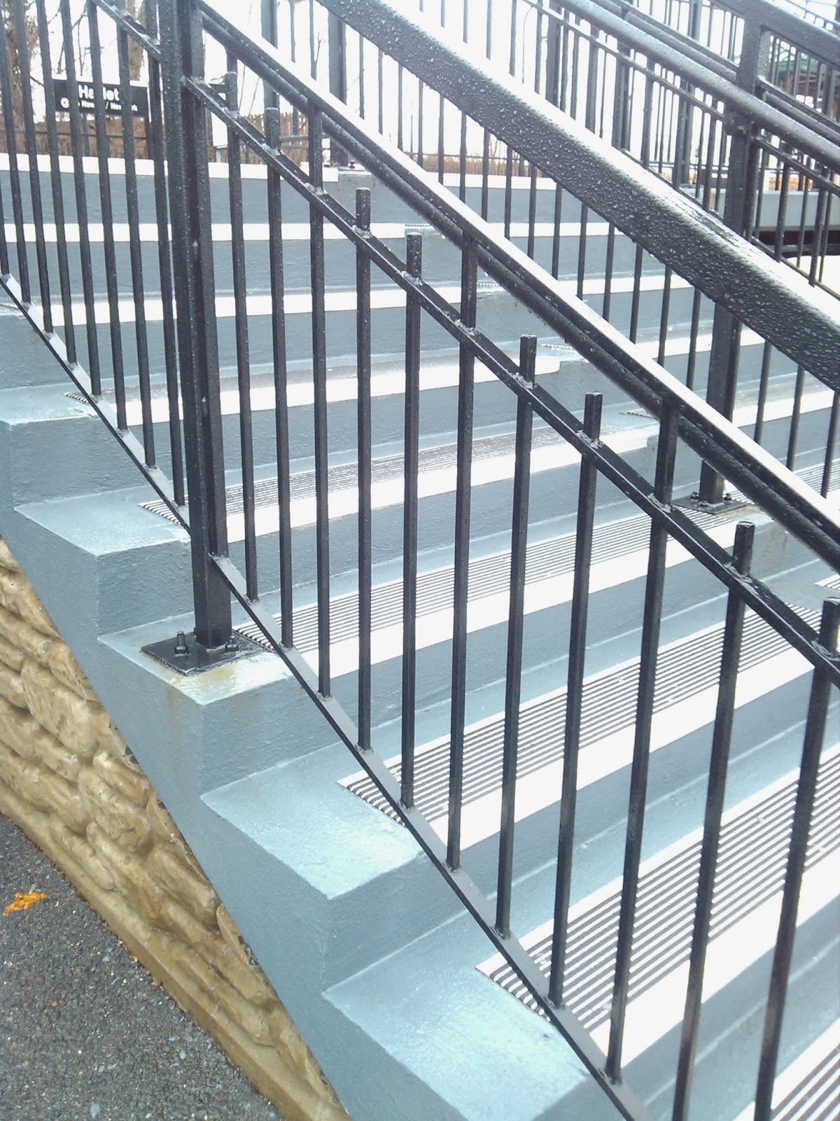 Non Slip Stair Treads And Platforms For Transit Facilities In NYC U0026 NJ