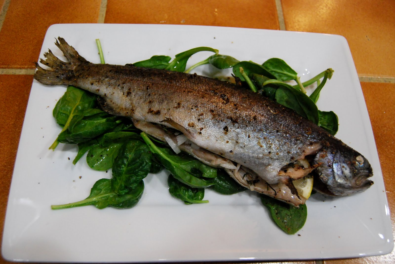 EAT Everyday: Roasted Trout with Herbs and Lemon