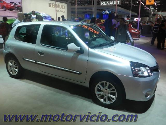 Renault Clio é o campeão de economia do Inmetro