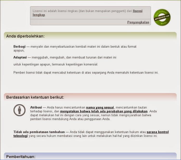 Label Gambar Creative Commons