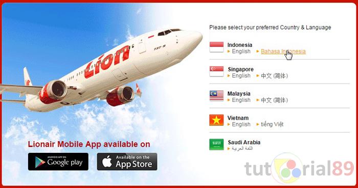 Cara mudah & praktis memesan tiket pesawat secara noline