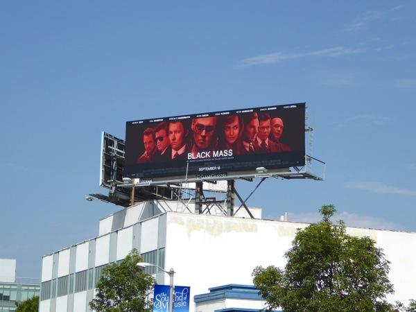 Black Mass film billboard