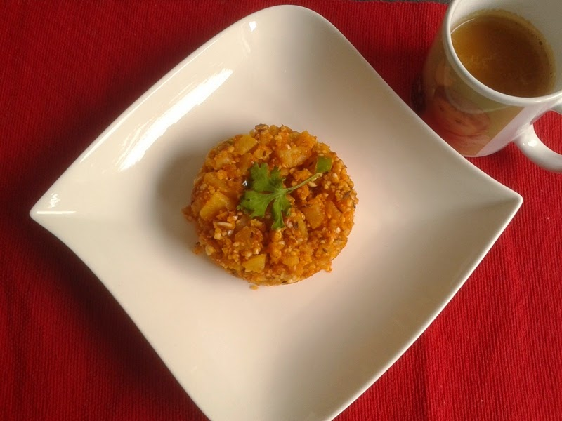 Peanut Potato Khichdi
